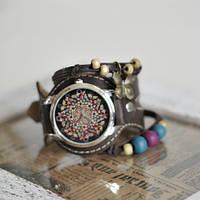 Наручные часы с браслетами Абстракция из бабочек