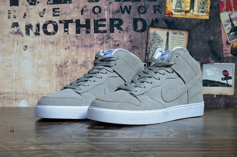 563d79a5 ☆ Купить Кроссовки мужские зимние Nike Dunk Hight Grey С МЕХОМ ...