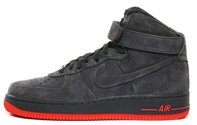 b50b3823 Зимние кроссовки Nike Air Force 1 Grey (Найк аир форс высокие, серые) на
