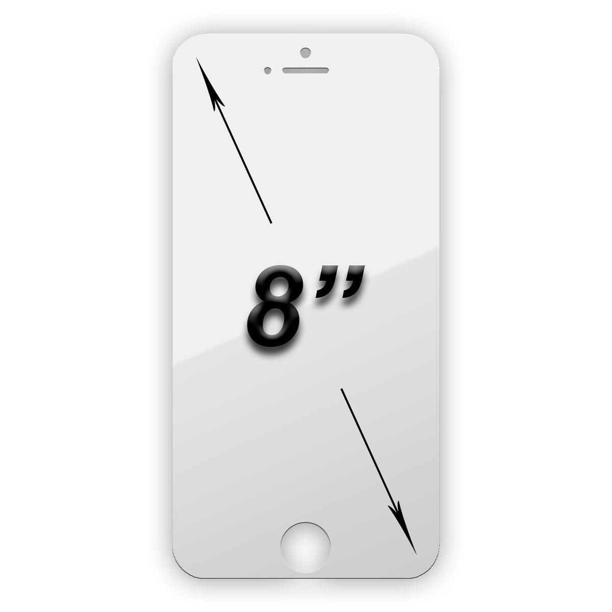 Защитная пленка универсальная для планшета 8