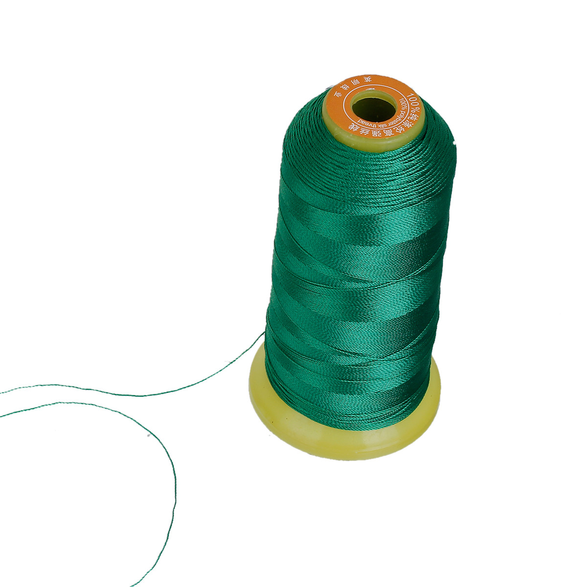 Нить, Полиэстер, Зелёный, 0.5мм