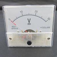 Вольтметр панельный стрелочный 30V DC серия 85C1