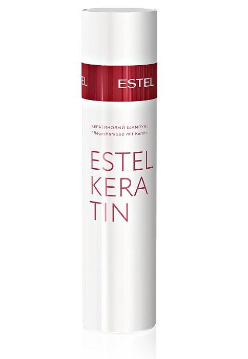Кератиновый шампунь для волос Estel Keratin 250 мл.