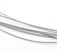 Нить, Шнур, Нейлон 0,7mm, Серебро, для Ожерелья / Браслета