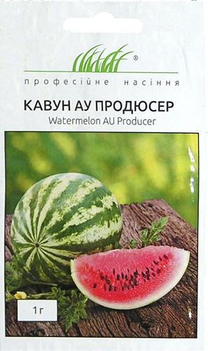 Семена арбуза АУ Продюссер 1 г, Unigen Seeds