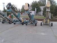 Выгрузка вагонов зерновозов