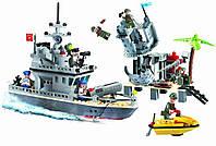 Конструктор BRICK 819 Военный корабль