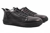Ботинки мужские Prada натуральная кожа, цвет черный (платформа, комфорт,  весна осень 127557fee8c