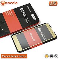 Захисне скло Mocolo Xiaomi Redmi Note 4 Full cover (Mediatek) (Gold), фото 1