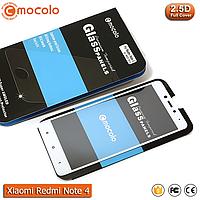 Защитное стекло Mocolo Xiaomi Redmi Note 4X Full cover (Mediatek) (White), фото 1
