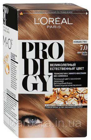 Краска для волос Loreal PRODIGY 7.0 (Миндаль)