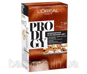 Краска для волос Loreal PRODIGY 7.40 (7.4) Огненный агат