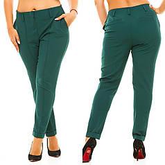 Элегантные классические женские брюки с карманами