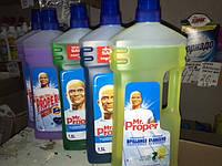 Mr. Proper— моющая жидкость для полов и стен 1,5l