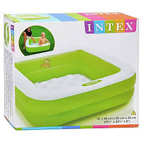 Детский бассейн Квадратный Intex 57100