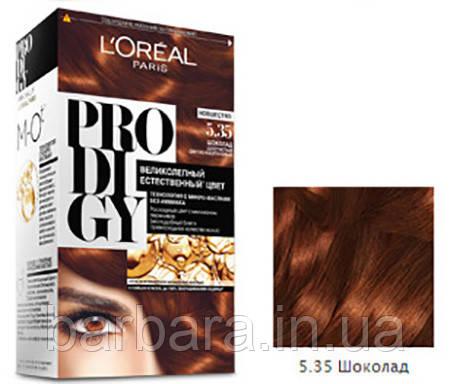 Краска для волос Loreal PRODIGY 5.35 (Шоколад)
