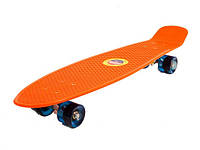 Скейт (Скейт SC17027 (12шт)металл.крепления, колёса PU свет,)