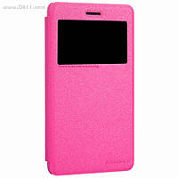 Чехол Nillkin Sparkle Leather Case для Lenovo S860 Hot Pink