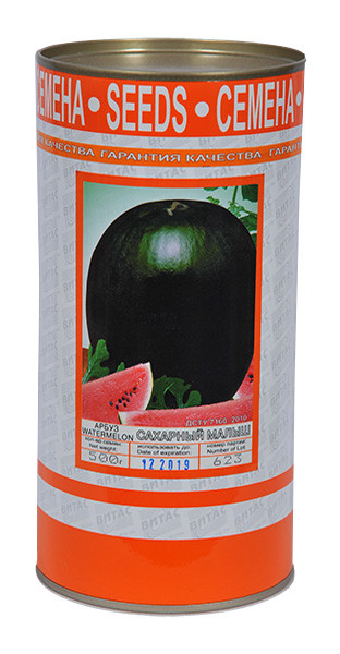 Семена арбуза Сахарный Малыш 500 г, ТМ Витас