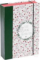 Коробка с резинкой COOVERBOX М 21х15х4