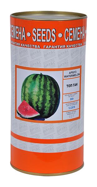 Семена арбуза Топ Ган 500 г, ТМ Витас