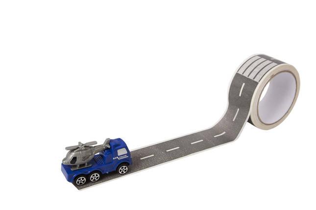 Бумажная игровая лента Автомобильная дорога. Версия Эко, фото 2