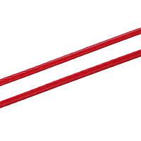 Веревка, Шнур, Нить, Красный, Корейский воск + Полиэстер, 1.0 мм