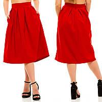 Стильная женская юбка миди