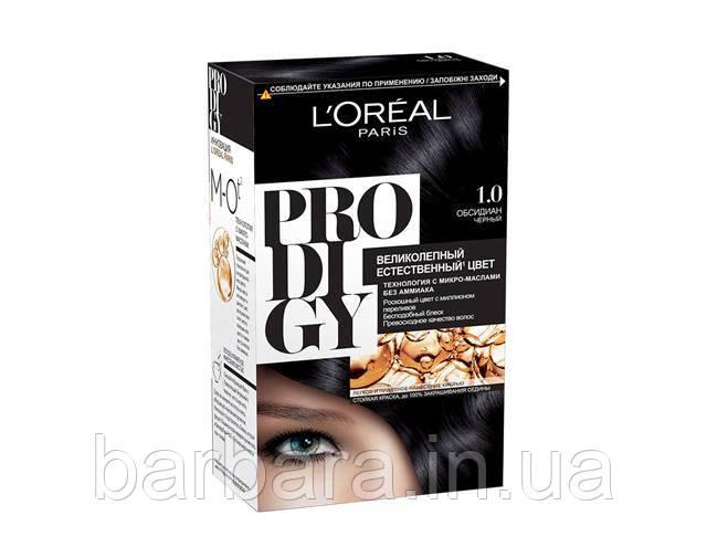 Краска для волос Loreal PRODIGY 1.0 (Обсидант)