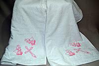Махровое полотенце Gulcan для крещения ребёнка банное Gulcan-крыжма (Хлопок 100%) 110х110 - Турция krug-06
