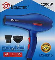 Фен для волос Domotec MS 8016 с насадкой дифузор