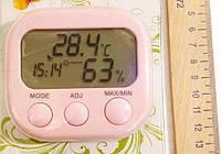 Часы термометр гигрометр ТА-638