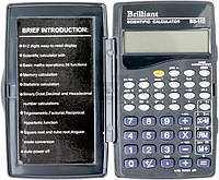 Калькулятор BS-112 научный 73*120*12 мм BRILLIANT