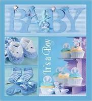 Детский фотоальбом EVG 20sheet Baby collage Blue w/box