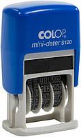 Мини-датер S120 4 мм Colop