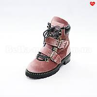 Женские розовые ботинки Jimmy Choo