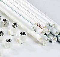 Полипропиленовые(ппр)трубы и фитинги VALTEC(белые) (пайка)