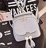 Портфель для девочек серый, фото 5