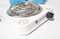 Электроплита 1 комфорка спираль Domotec DT-1014 1000w