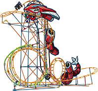 """Детский Набор конструктор Набор для конструирования """"Американские горки - механический удар"""""""