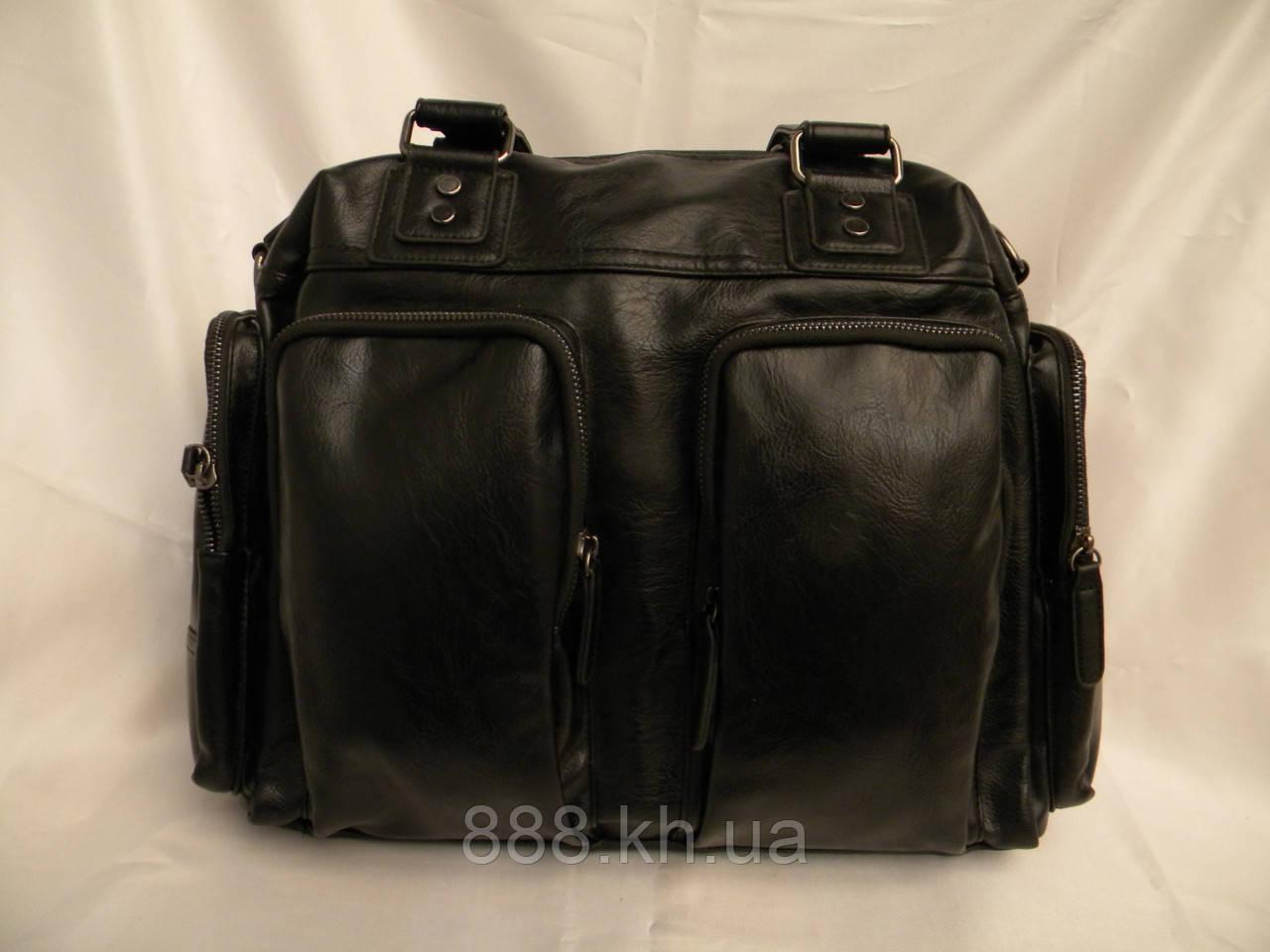 1b36e2009343 Кожаная мужская сумка, дорожная мужская сумка, городская сумка, прочная  сумка, качественная сумка