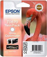 Набор картриджей Epson  T0870 Gloss Optimizer double C13T08704010 прозрачный глянец C13T08704010