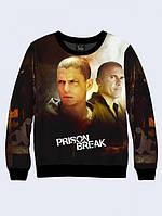 СВИТШОТ PRISON BREAK; XXS, XS, S, M, L, XL, фото 1