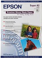 Бумага Epson  A3+ Premium Glossy Photo Paper, C13S041316