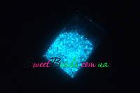 Светящийся песок 10г, голубой