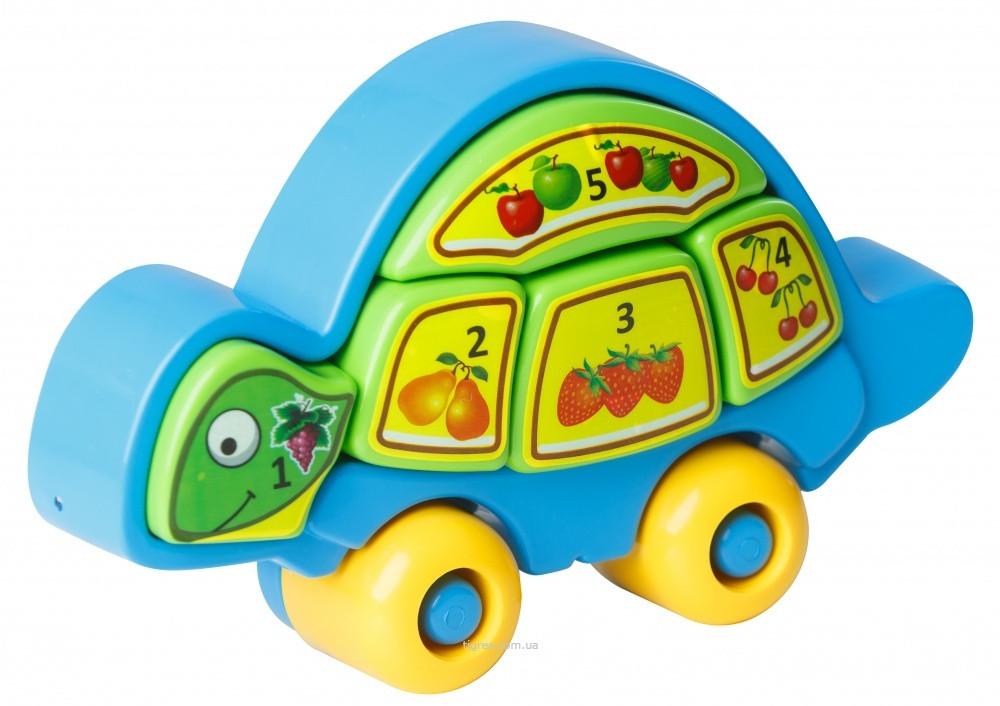 Машинка каталка,Черепаха-разумаха, 39201