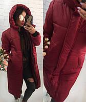 Куртка-пальто мод.246 (плащёвка+синтипон 300)