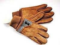 Перчатки мужские замшевые