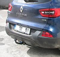 Фаркоп на Renault Kadjar (c 2015--)