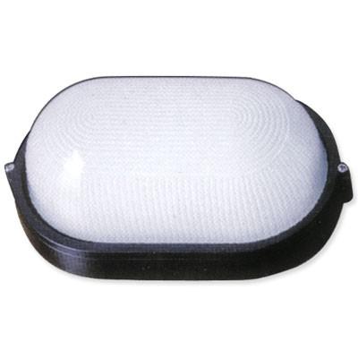 Светильник «овал» 60W без решетки белый
